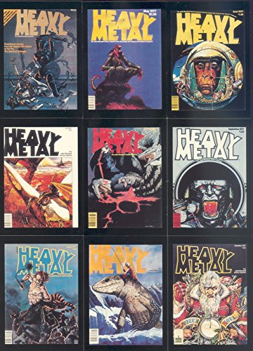 Fantasy Image (HEAVY METAL COVERS 1 1991 COMIC IMAGES COMPLETE BASE CARD SET OF 90 FANTASY ART)