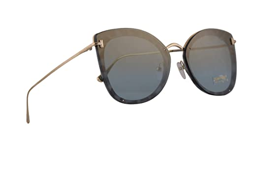 97278effa3 Amazon.com  Tom Ford FT0657 Charlotte Sunglasses Blue Havana w Blue ...