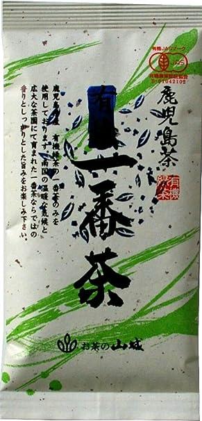 山城物産 鹿児島有機一番茶 80g