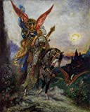 Moreau Gustave Arabian Poet 100% Hand Painted Oil Paintings Reproductions 12X16 Inch