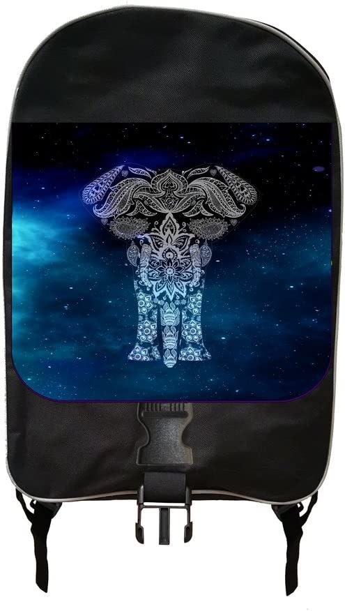 Ethnic Galactic Elephant Jacks Outlet School Backpack and Pencil Case Set