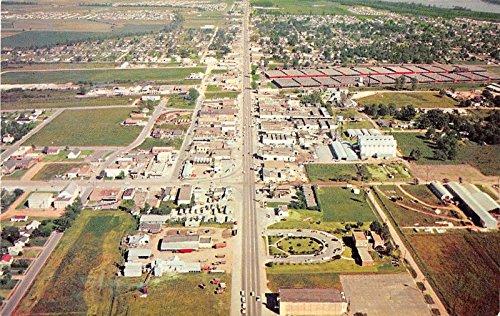 West Memphis Arkansas Aerial View Vintage Postcard J15301