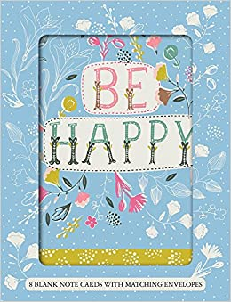 Be happy boxed notecards with 8 envelopes sellers publishing inc turn on 1 click ordering for this browser m4hsunfo