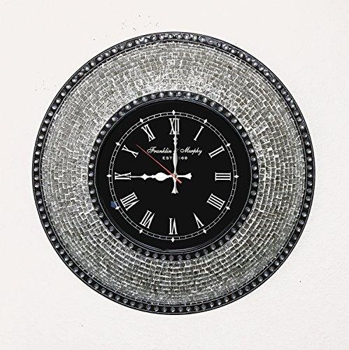 DecorShore Decorative Mosaic Wall Clock