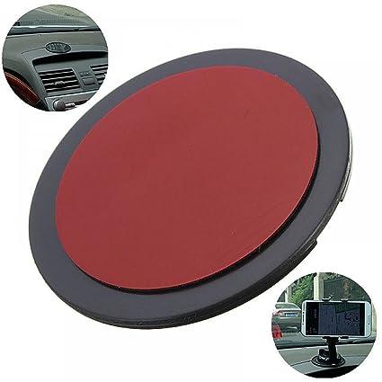Paquete de 4 - MAXGOODS 70mm Disco de Montaje Adhesivo Ventosa Soporte para Teléfono/ Tablet