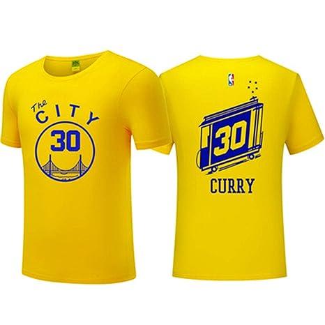 online store 22e15 81e18 COSPLA NBA Men's T-Shirt Golden State Warriors Stephen Curry ...