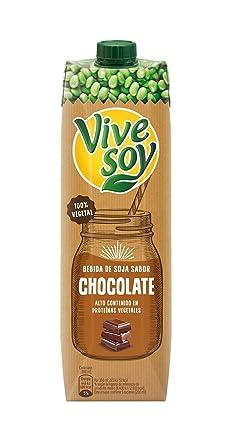 Vivesoy - Bebida de Soja sabor Chocolate - 1 L