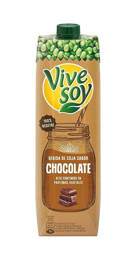 Vivesoy Bebida de Soja con Chocolate - 1 l