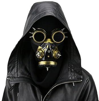 Wei zhe - Gafas para Hombre y Mujer, Diseño Steampunk, Máscara de Gas,