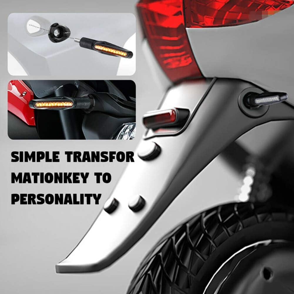 QoFina 4 pi/èces Adaptateur de Clignotant de Moto plaques dadaptateur dentretoise pour Yamaha MT-03 2015-2018 Yamaha MT-07 2014-2018