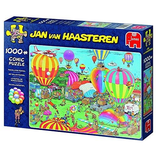 Jumbo Jan Van Haasteren the Balloon Festival Jigsaw Puzzle (1000 Piece)