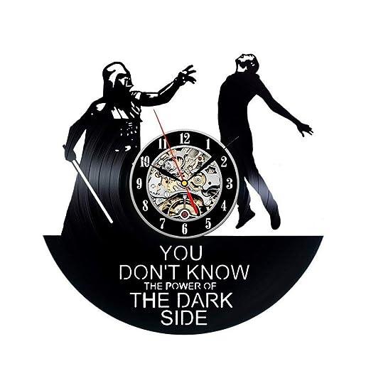 Meet Beauty Star Wars Darth Vader - Reloj de Pared de Vinilo ...