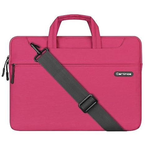 LIANG maletín formal para portátil y tablet, resistente al agua, antigolpes, bolsa,