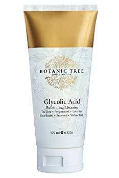Botanic Tree Glycolic Acid Face Wash Exfoliating Cleanser