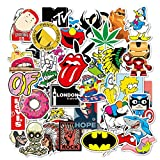 Fashion Stickers for Laptop Stickers,CC-cooL Waterproof Durable Trendy Vinyl Laptop Decal Stickers Pack for Teens/Girl, Travel Case, Computer, Water Bottles, Motorcycle-100 Pcs