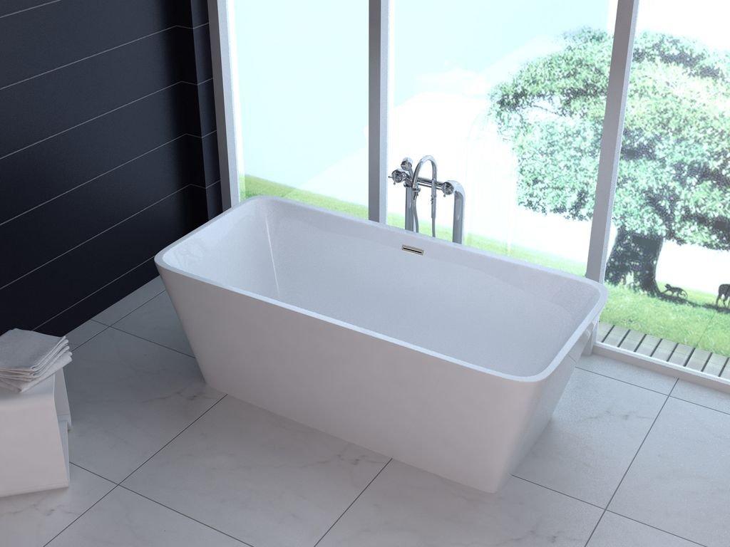 Freistehende badewanne reto amazon de baumarkt
