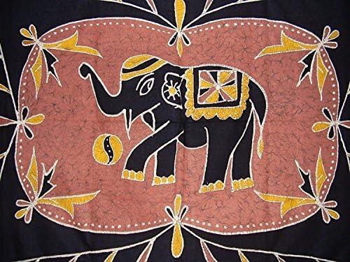 Lucky Batik elefante tapiz pared colgar muchos usos: Amazon.es: Hogar