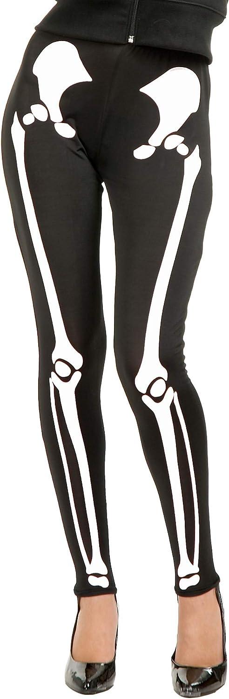 Charades Women's Skeleton Leggings: Clothing