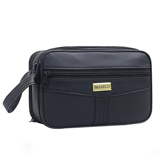 Goosun Herren Einfarbig Multifunktion Handtasche Reißverschlusstasche Geldbörse Kartentasche Männer taschen handtasche leder henkeltasche shopper