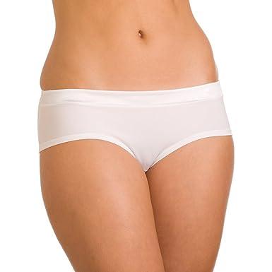 9cf6331af9c Camille Womens Ladies White Underwear Tuxedo Boxer Shorts Briefs Sizes 6-20  10 12