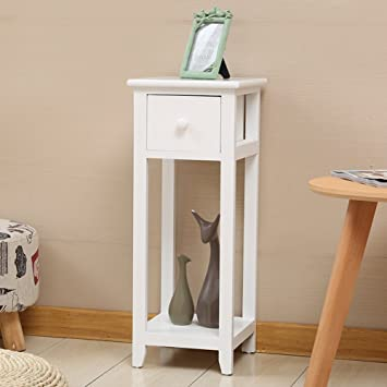 Amazon.com - EWYGFRFVQAS Little Bedside Table Solid Wood ...