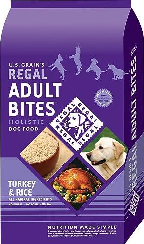 Regal Holistic Adult Bites Dry Dog Food 15lb Bag