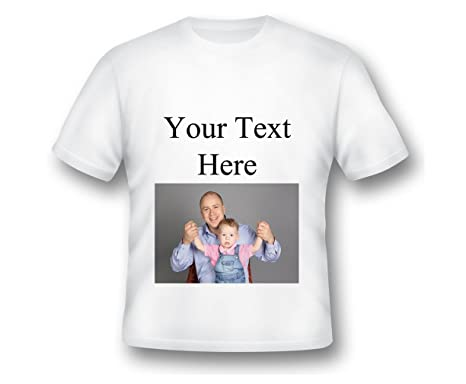 b4b30155 Amazon.com: Personalized Custom T-Shirt Add Your Own Text Personalized  Customized Tee, Custom Shirt, Design Your own Shirt, Custom Design: Clothing
