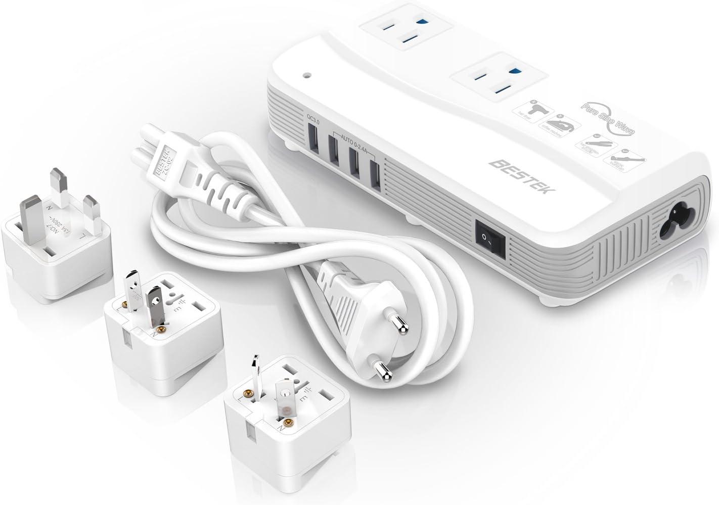 BESTEK Power Converter for International Travel
