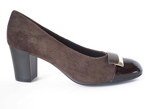 chaussures de course moins cher choisir l'original OSVALDO PERICOLI, Escarpins Femme - Marron - Tête de Mort ...
