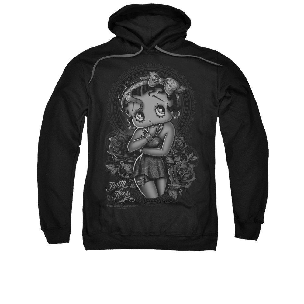 2Bhip Cartoon art und weise rosen hoodie für Herren