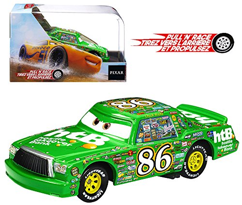 - Cars Diecast Chick Hicks Pull 'N' Race Disney 1:43 Scale