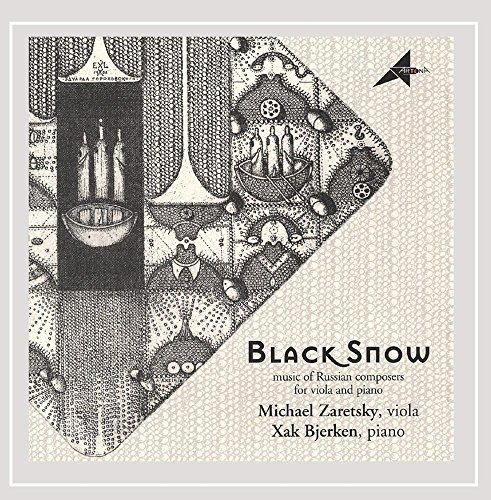 Black Snow music of Russian composers for viola and for sale  Delivered anywhere in USA