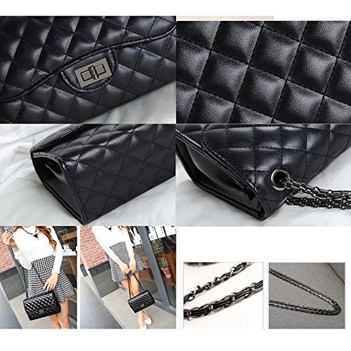 C4 Carriera Handbag Women Borsa Crossbody Chain Fashion Pu Jhgfrt Messenger Da Sera Lingge 2018 Ol Shoulder Bag leather xqX4wTSp