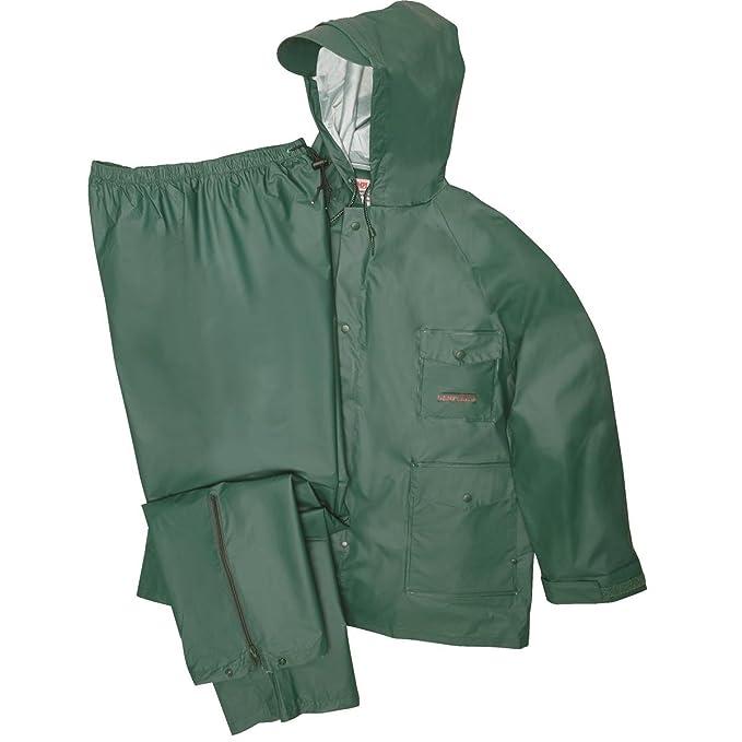 Amazon.com: Gempler - Chubasquero y pantalón impermeable de ...