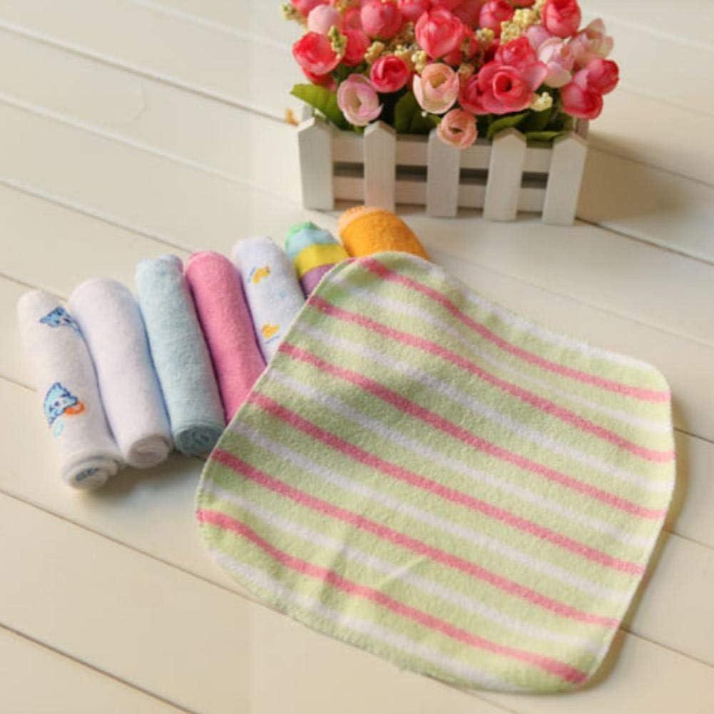 Pflegetuch speziell f/ür Babys entwickelt Pflege f/ür die t/ägliche Reinigungsarbeit des Babys apposite Eternitry 8-teiliges Baby-Speicheltuch-Taschentuch-Badetuch babyspezifische Handt/ücher