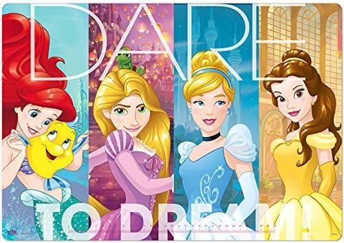 Erik Schreibtischunterlage/Schreibtischmatte Disney Prinzessinnen mit Eeinmaleins