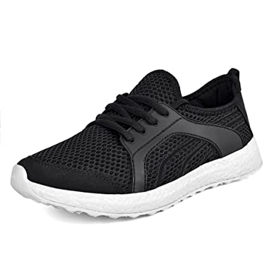 Ladies Running Trainers Womens Light Weight Gym Fitness Mesh Sports Shoes Size