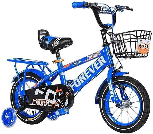 AJZGF Bicicletas niños Bicicleta for niños Niñas y niños Rueda de ...