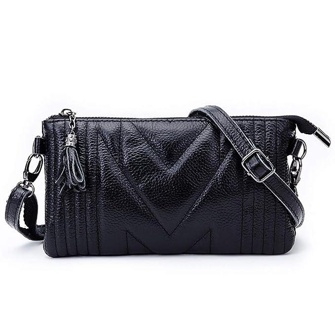 Handbag Cuero De Gran Capacidad Cartera Crossbody Para Mujeres Compras: Amazon.es: Ropa y accesorios