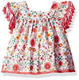 Rosie Pope Baby Girls' Tee's and Sweater Tops, Floral, 12M