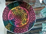 Large Floor Cushion Cover Kids Meditation Green Mandala - Best Reviews Guide