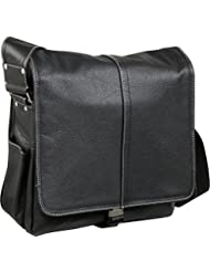 AmeriLeather Legacy Leather Teddy Messenger Bag
