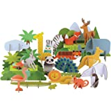 Petit Collage Animals Of The World Deluxe Pop-Out