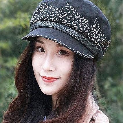 ZHANGYONG Sombreros Elegantes Marea Hembra 8 Hat Pintor Pac Beret tocados  Moda Ocio Tapa de 0f28fe831bd