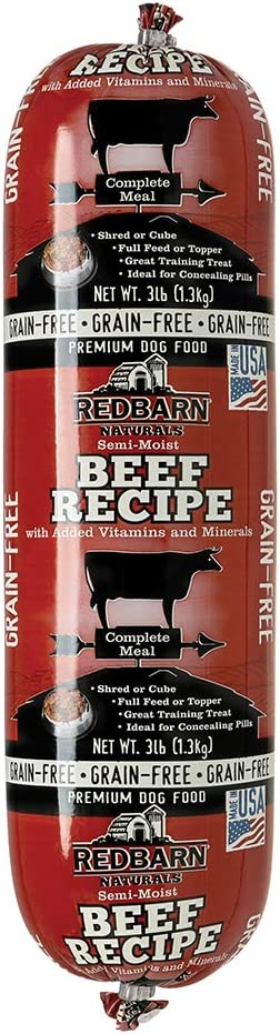 Redbarn Dog Grain Free 3lb Beef Roll (1-Count)