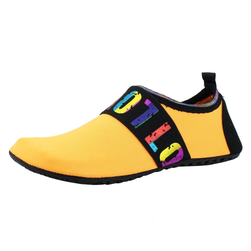new style e929a a0903 Zapatos de agua SENFI Descalzo unisex Atletismo exterior Zapatillas Aqua  para Beach Pool Surf Ejercicio (hombres   mujeres) 02blue