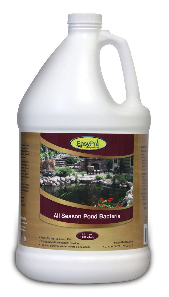 EasyPro ASB128 128-Ounce All-Season Liquid Pond Bacteria