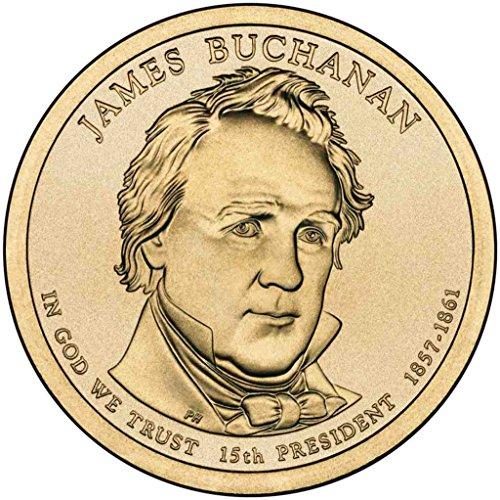 2010 D Buchanan Presidential Dollar Choice Uncirculated