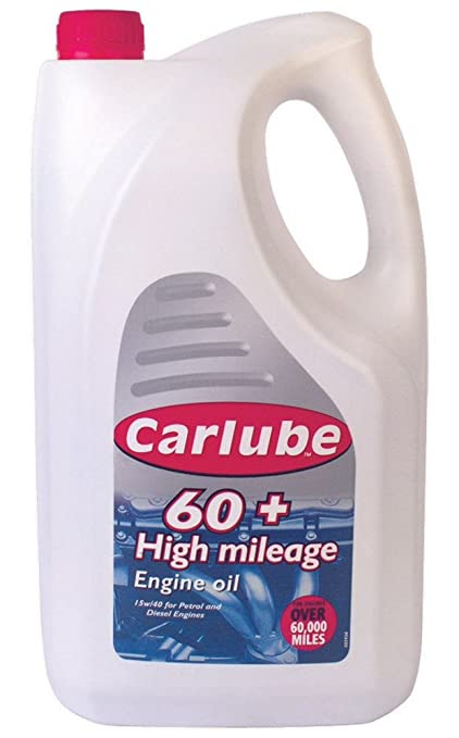 Carlube xpq455 60 Plus de Alta kilometraje Aceite Mineral: Amazon ...