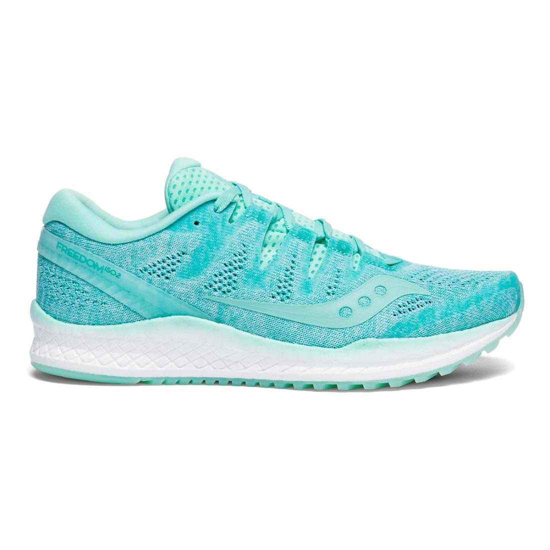 Saucony Women's Freedom ISO 2 Running Shoes B078PP7W5S 11.5 B(M) US|Aqua